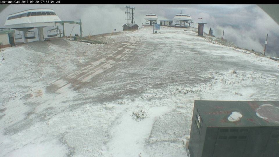 Sun Valley lifts ready as first snow falls. (Sun Valley/Facebook)