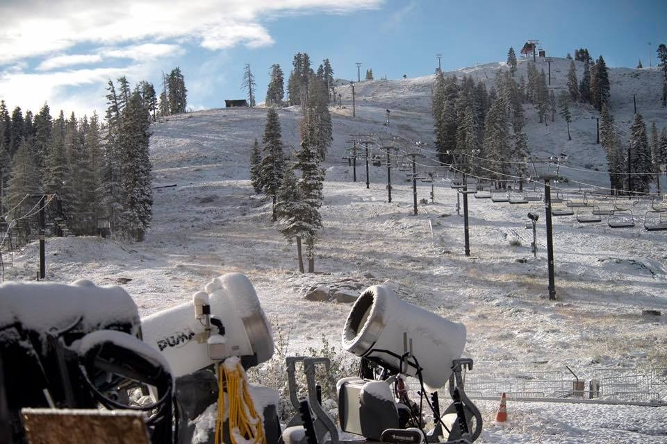 Boreal hopes to be first Cali resort open. (Boreal/Facebook)