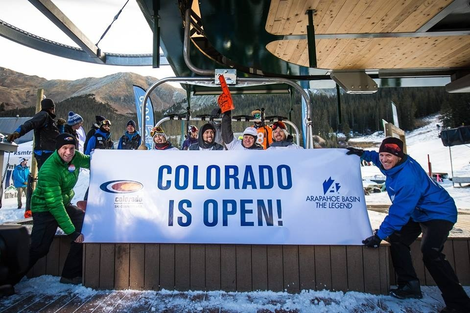 Arapahoe Basin wins first-to-open crown again (Arapahoe Basin/Facebook)