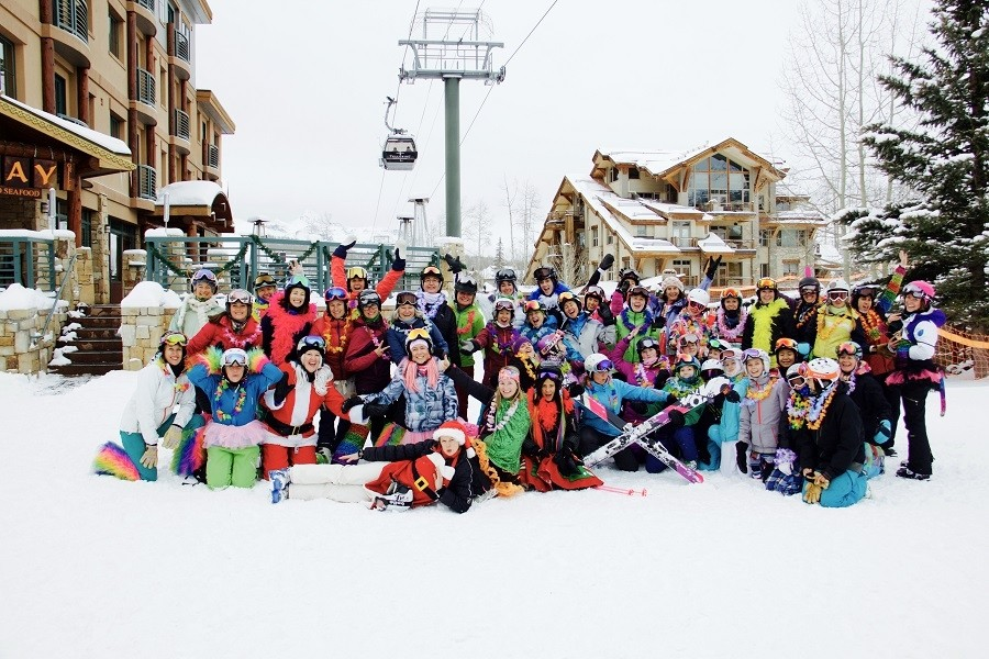 Camaraderie and fun at Telluride. (Telluride)