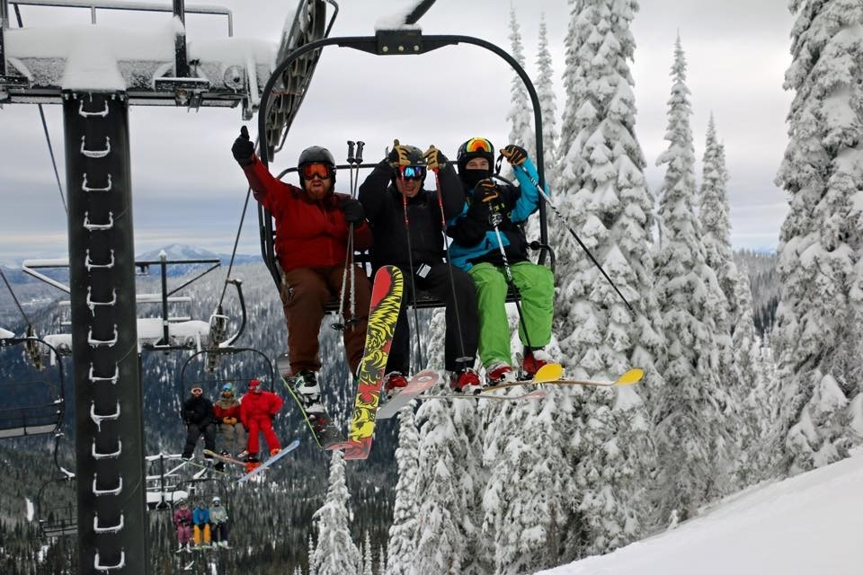 Loving the ride up the mountain. (Whitefish Mountain Resort/Facebook)