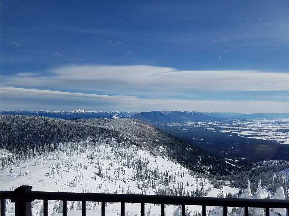 View from the Summit House. (Whitefish Mountain Resort/Facebook)