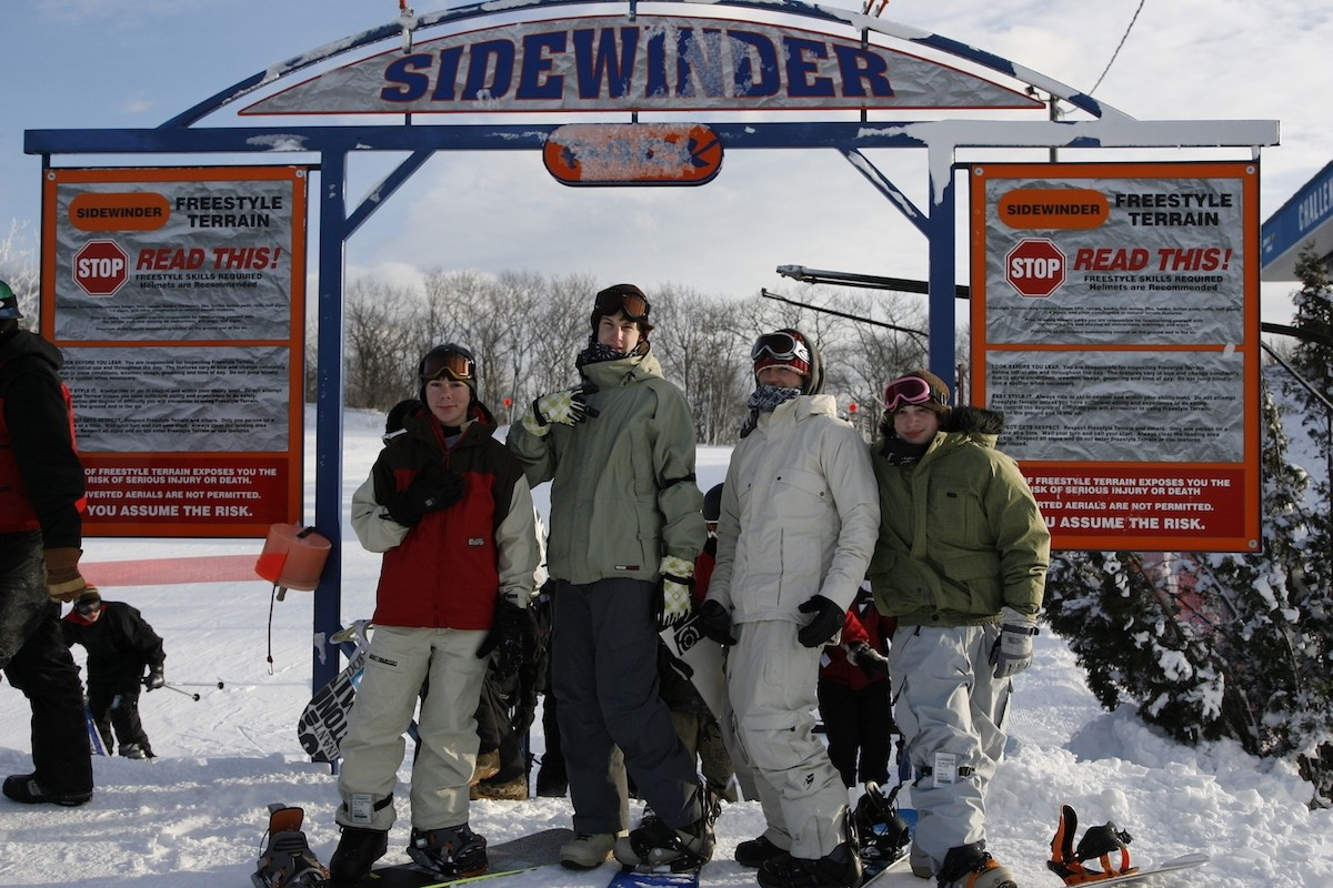 Blue Mountain's Sidewinder park. (Blue Mountain)