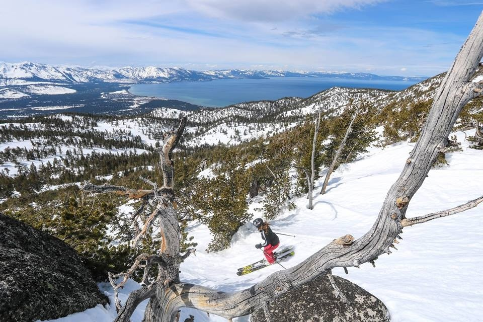Tons of intermediate tree skiing at Heavenly. (Heavenly/Facebook)