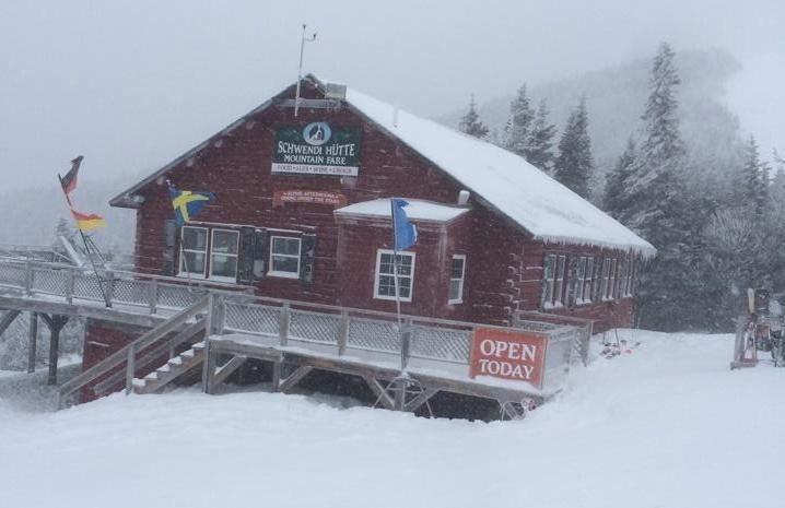 Lunch at Waterville Valley means Schwendi Hutte. (Waterville Valley/Facebook)