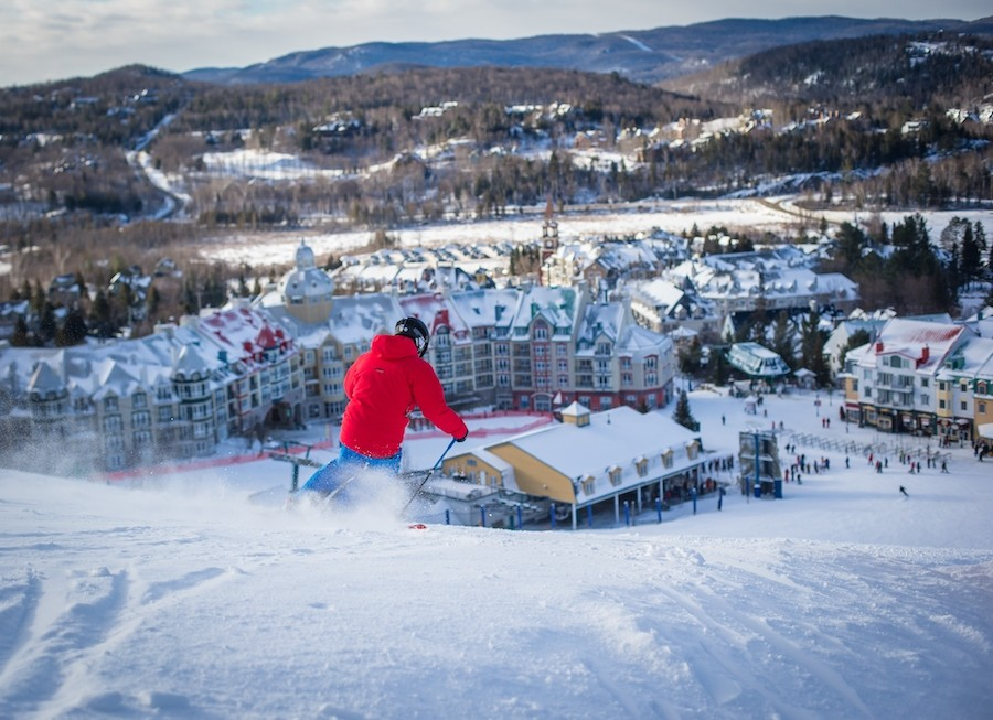 The iconic village at the base of Tremblant. (Alterra Mountain Company)