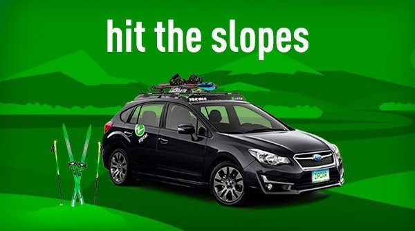 Hit the slopes with Zipcar and Wachusett. (Zipcar New England/Twitter)