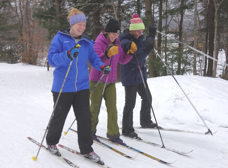 Fun with friends at Smugglers' Notch. (Smugglers' Notch)