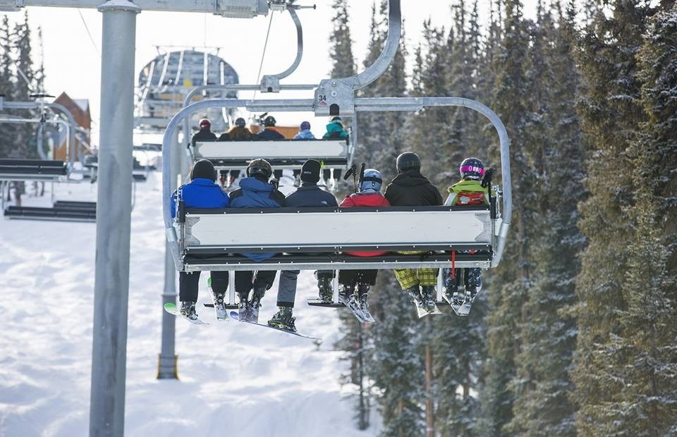 Uphill capacity handles big crowds. (Keystone/Facebook)