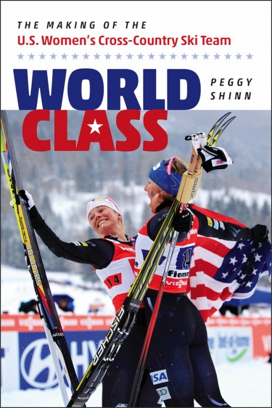 Shinn's new book on the rise of the U.S. women's cross-country team. (UPNE)