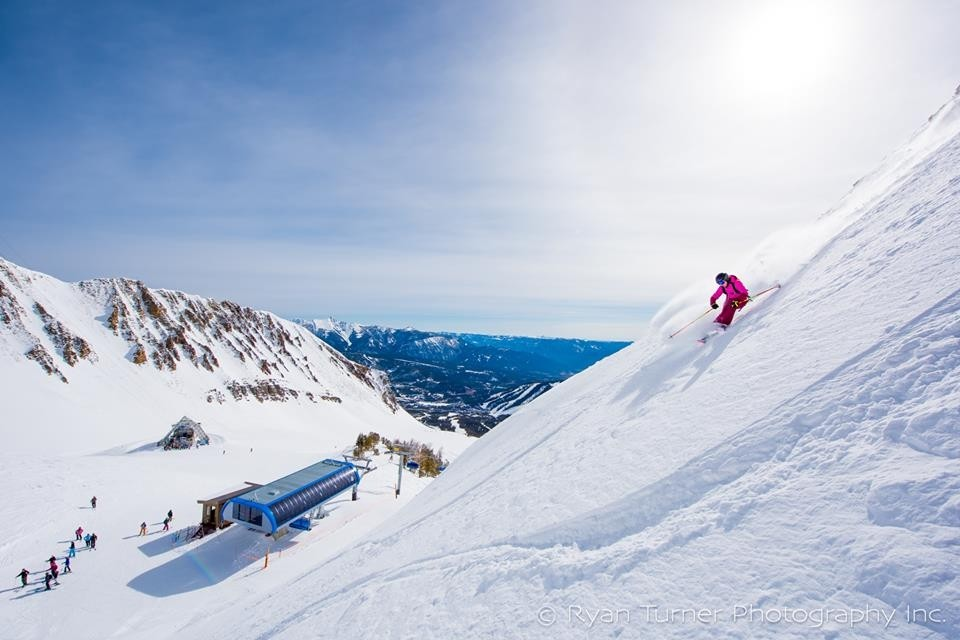 Head up to top lifts at Big Sky for bowls. (Big Sky/Facebook)
