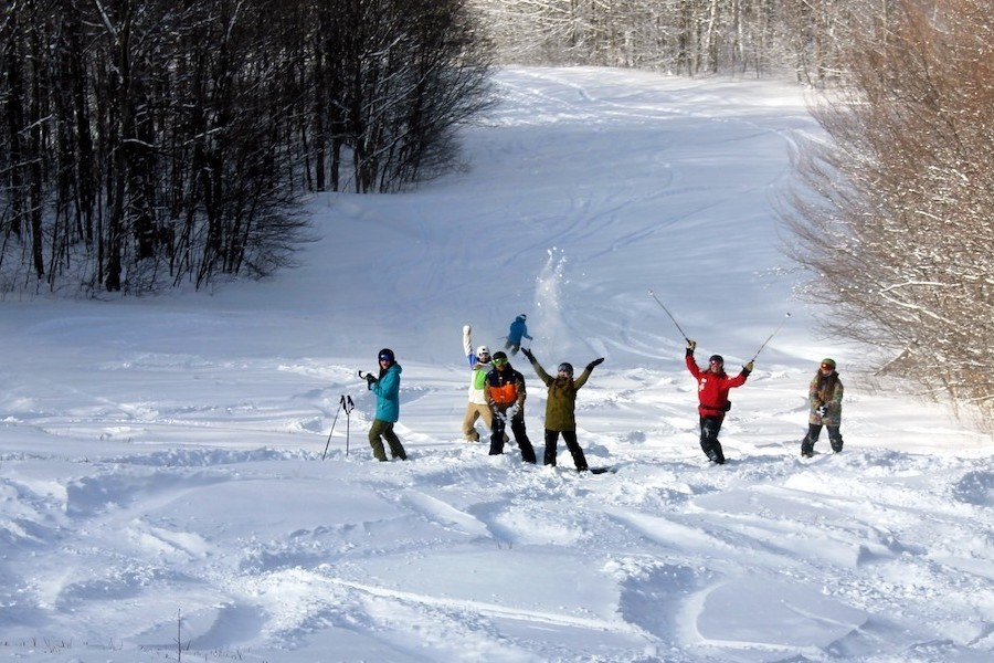 New snow at Bolton Valley has allowed the resort to more than double its open trail count. (Bolton Valley)