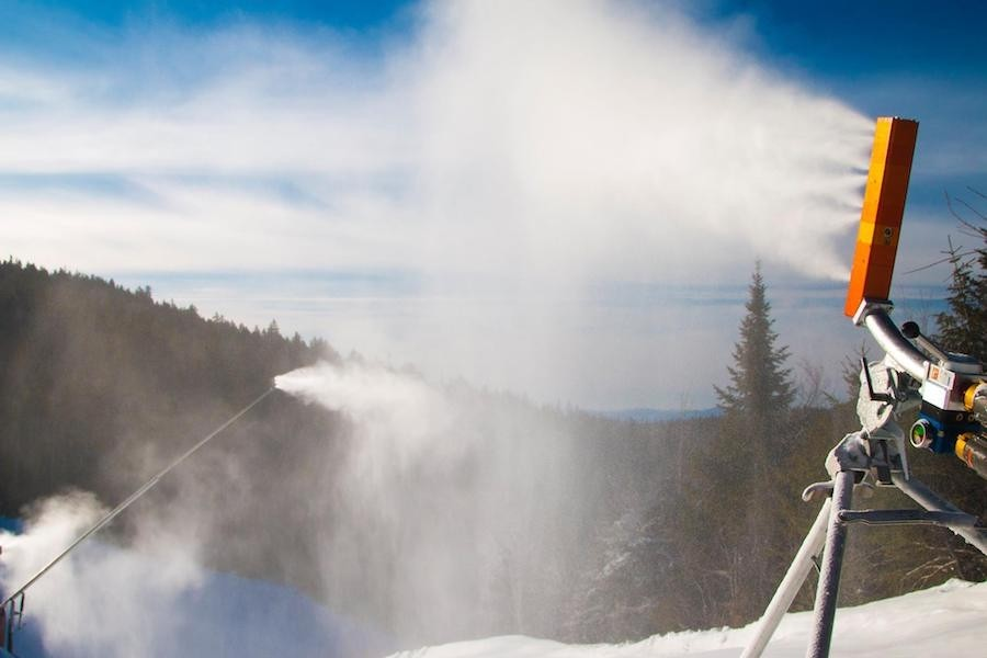 Loon has more than doubled its snowmaking output over the last several years. (Loon/Facebook)