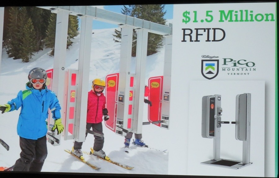 A $1.5 million RFID system will be added at Killington and Pico for winter 2018-19. (Karen Lorentz/Killington)