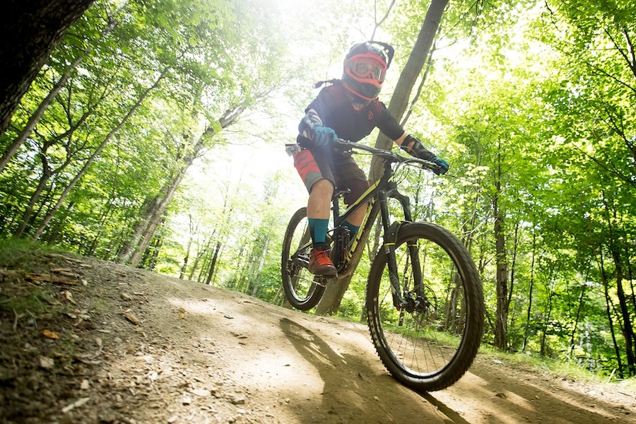 Three high-speed lifts, beginner, intermediate and expert bike trails at Killington. (Killington)