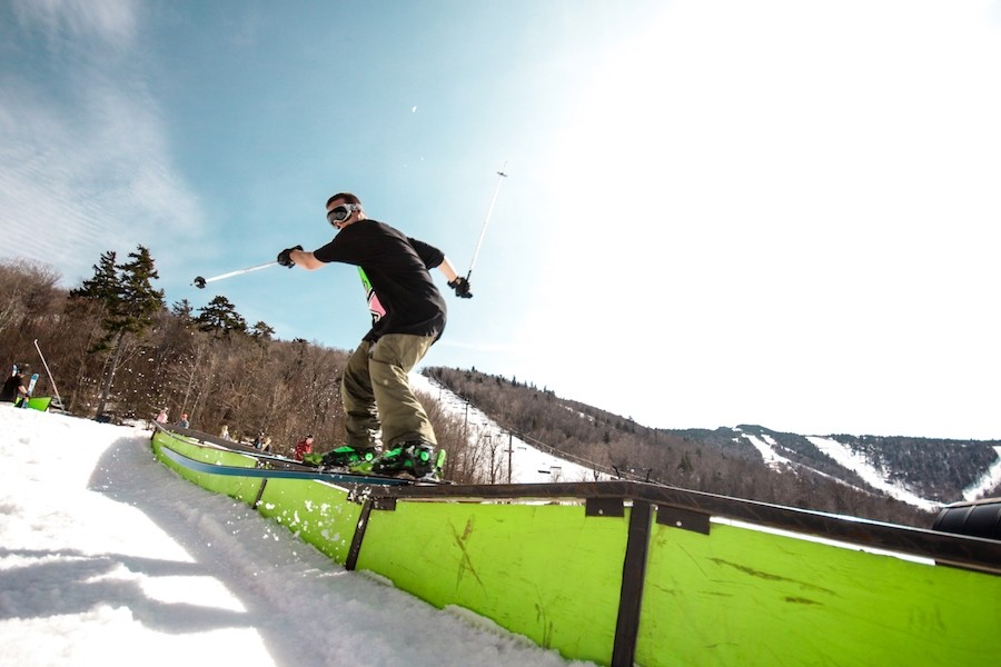 Six unique parks at Killington for your jibbing and jumping enjoyment. (Killington)