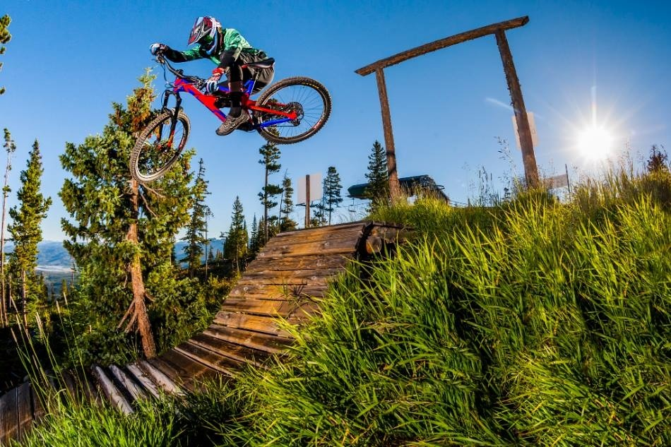 Mountain biking trails bring riders to new heights. (Trestle Bike Park/Facebook)