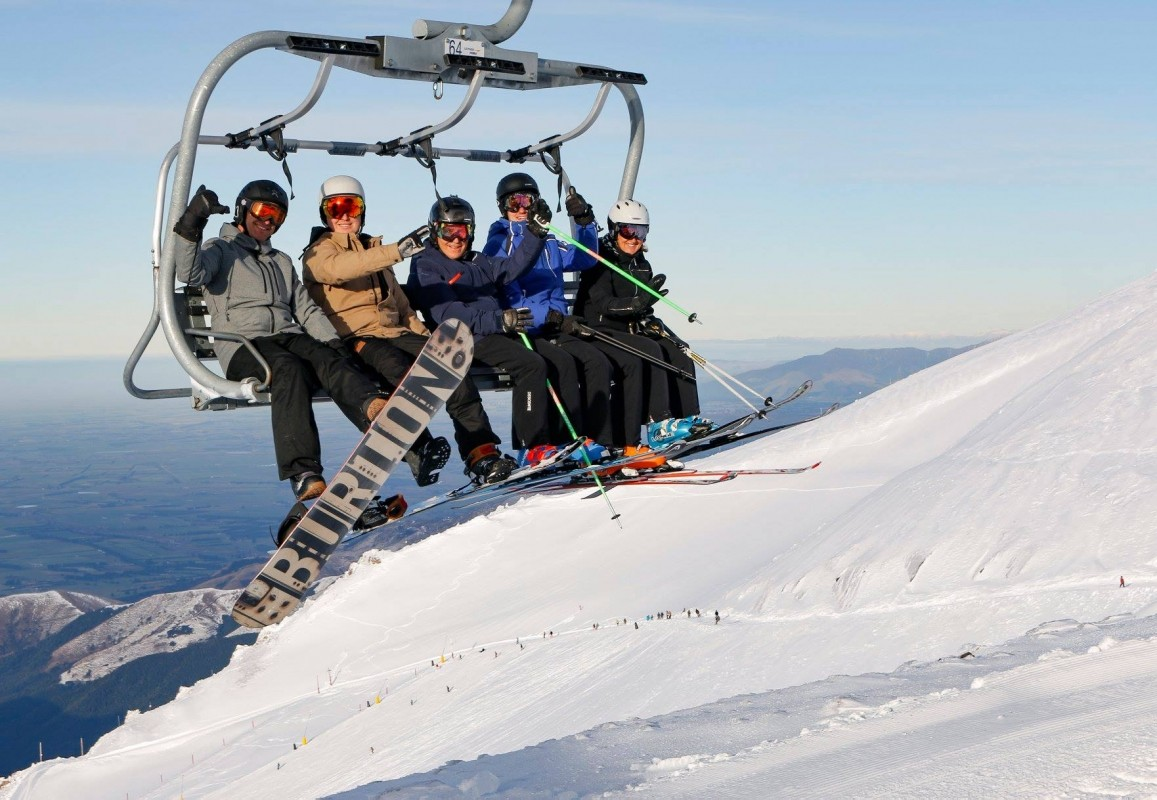 Opening day at Mt Hutt, New Zealand. (Mt Hutt/Facebook)