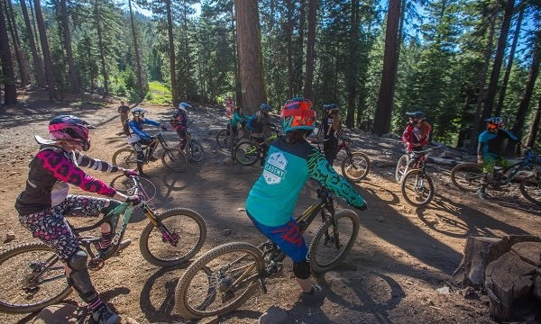 Mountain biking for women only at Northstar. (Northstar California)