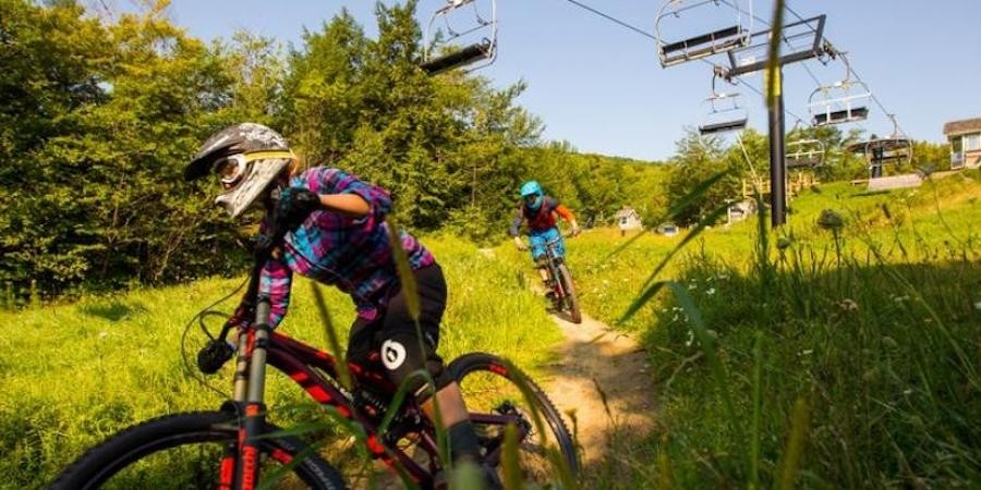 Okemo Mountain Resort continues to expand the Evolution Bike Park for Summer 2018. (Ski Vermont/Okemo)
