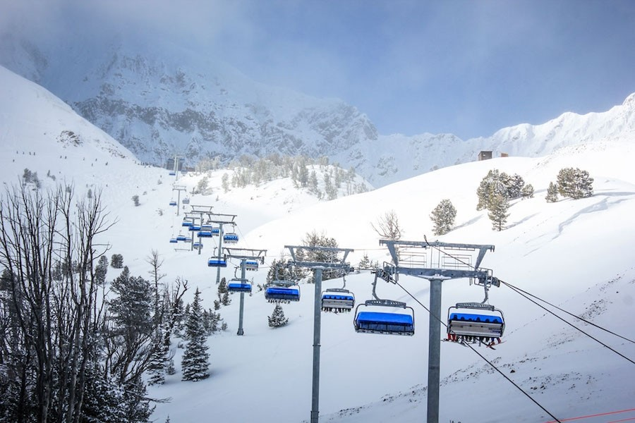 In addition to its 6-pack bubble lift, Big Sky will add the first eight-seat, high-speed chairlift in North America to its arsenal this winter. (Mountain Collective)