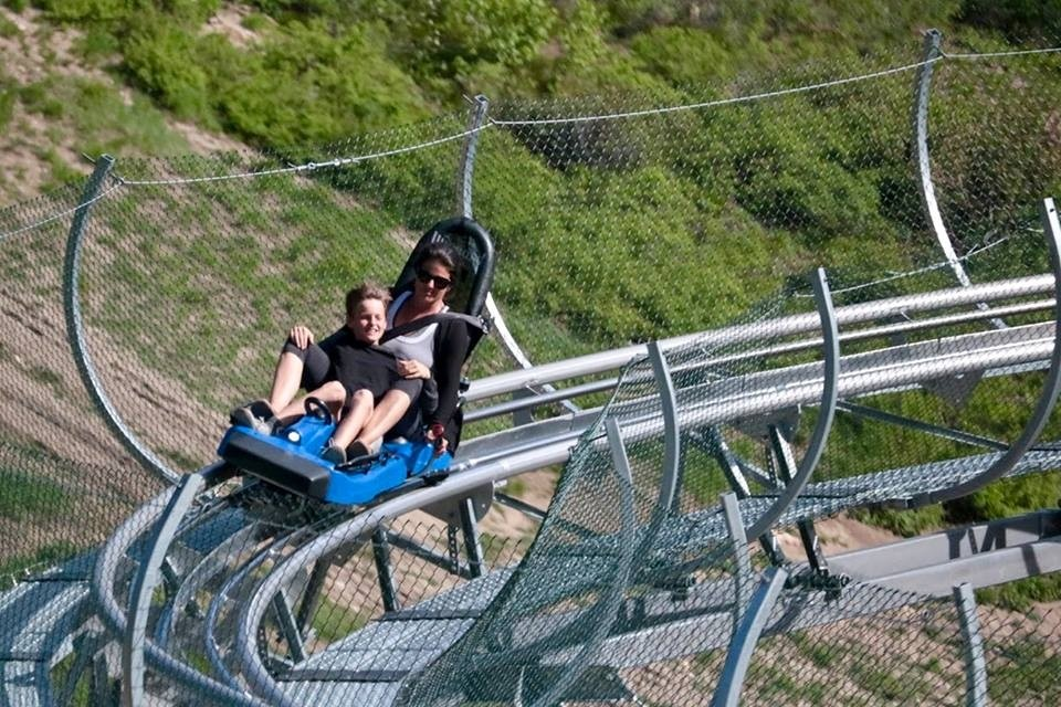Idaho's only mountain coaster. (Bogus Basin/Facebook)