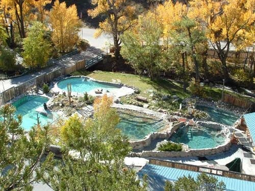 Pick your pool at hot springs outside Buena Vista. (Cottonwood Hot Springs & Spa/Facebook)