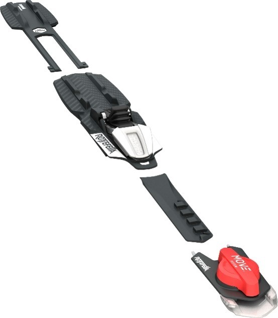 "You can ""switch gears"" with the MOVE Switch as often as you want while you're out skiing – with a little practice, you can even do it while on the move. (Rottefella)"
