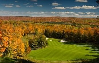 Plenty of fairways to choose from at Boyne this fall. (Boyne Golf/Facebook)