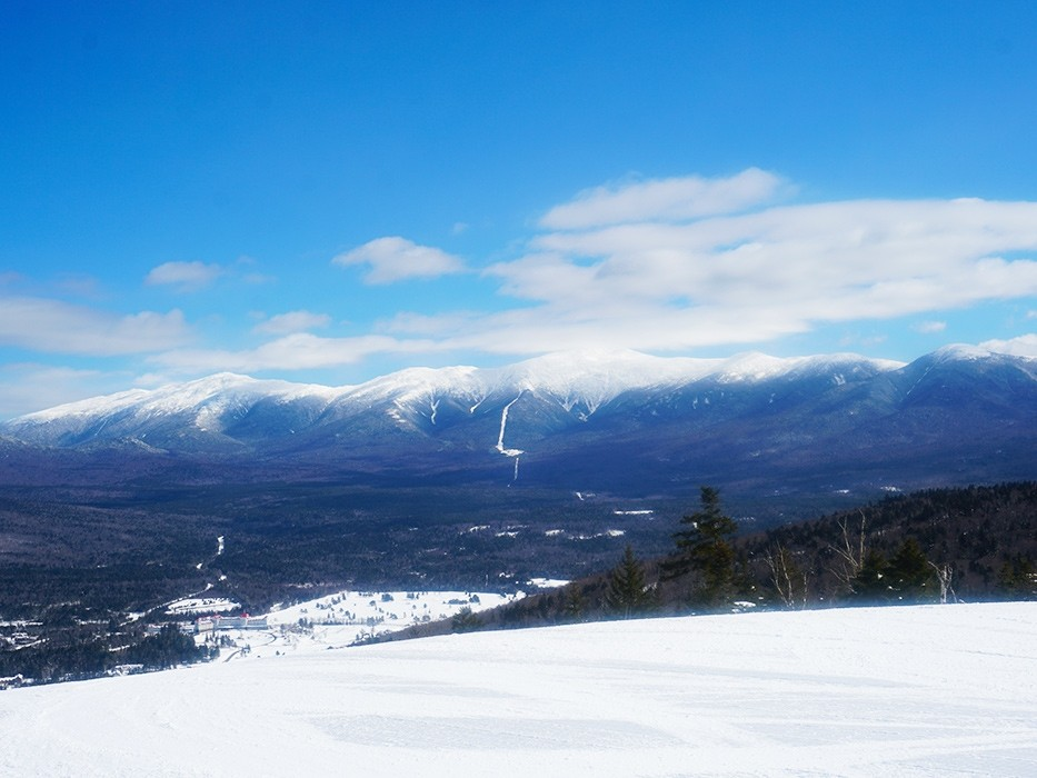 Smooth groomers and views for miles at Bretton Woods. (Bretton Woods)