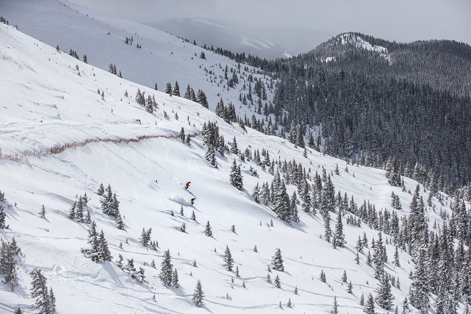 Powder stash Beavers area opens with new A-Basin chair. (Arapahoe Basin/Facebook)