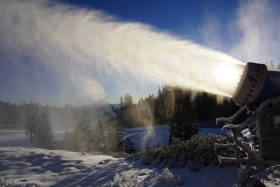 Plenty of new snowmaking at Mt. Rose Tahoe. (Mt. Rose Tahoe/Facebook)