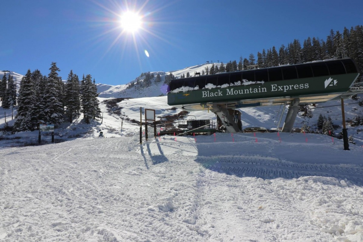 The Black Mountain Express brings the first runs of the season at Arapahoe Basin. (Arapahoe Basin/Facebook)