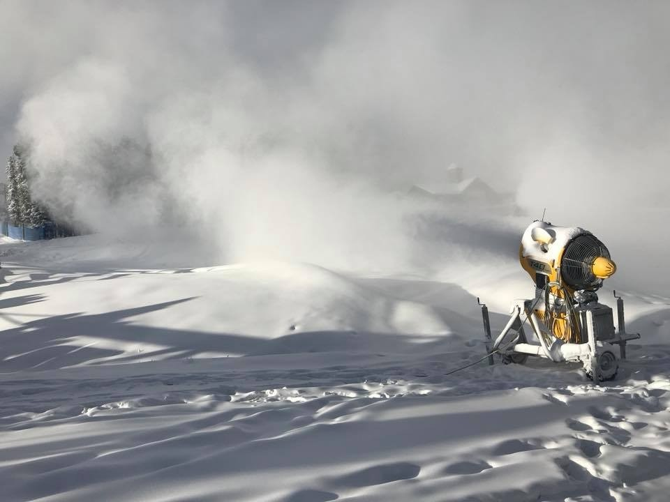 More and more snowmaking going in at Breckenridge. (Breckenridge/Facebook)
