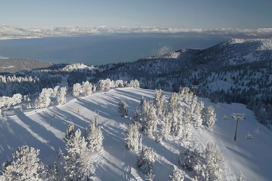 Ski in two states at Heavenly above Lake Tahoe (Heavenly/Facebook)