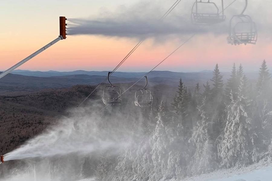 Mount Snow's snowgun investment pays dividends to skiers and riders. (Mount Snow)
