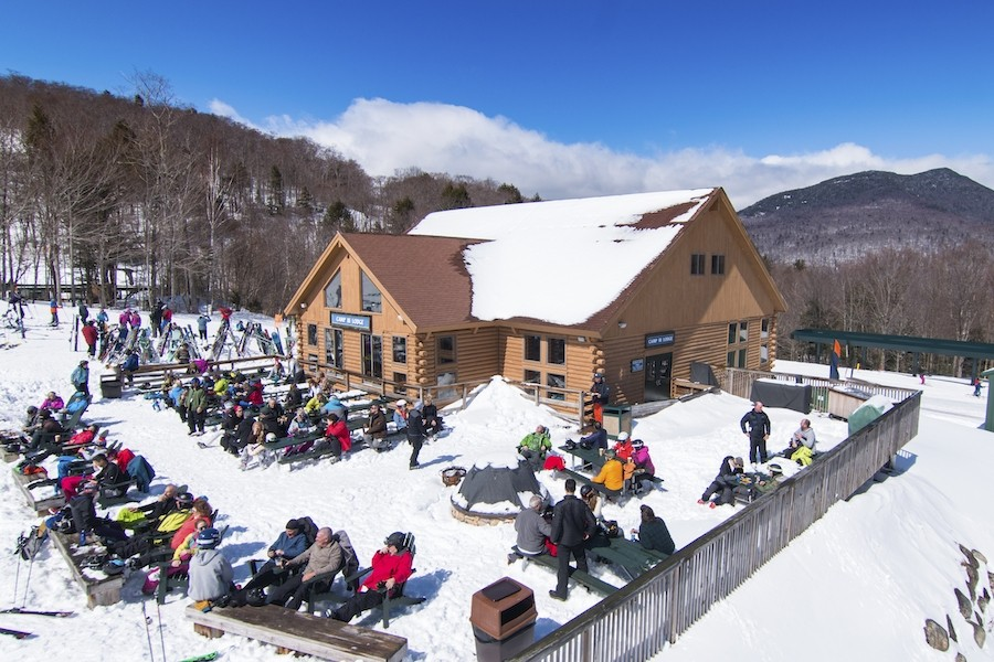 Loon's Camp III is the place to be on a sunny day. (Loon)