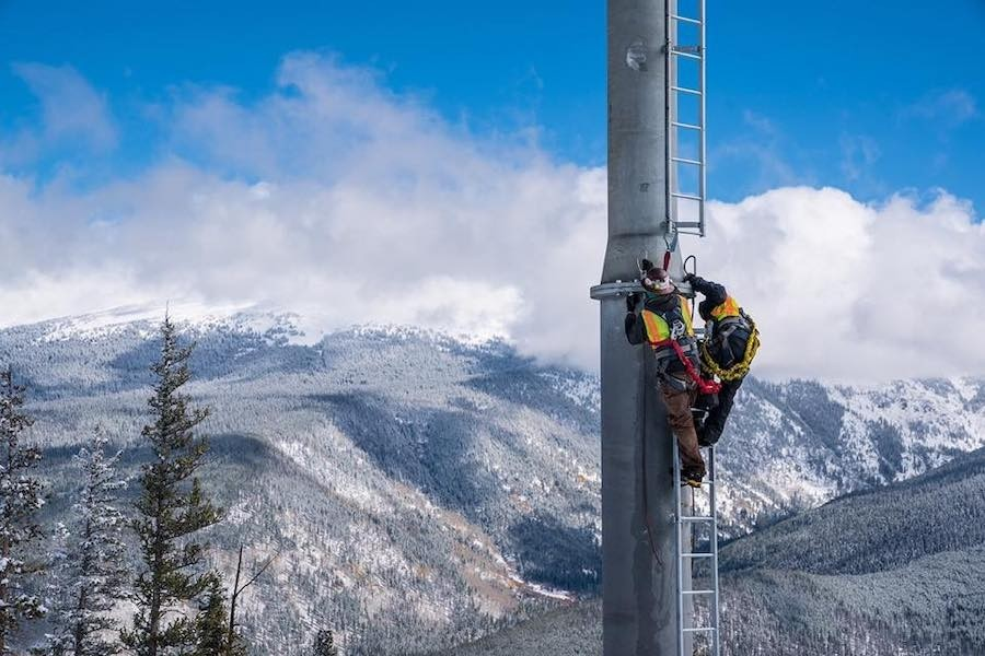 New gondola goes up at Winter Park. (Winter Park/Facebook)