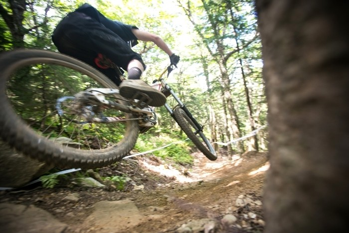 Mountain biking has brought energy and more year-round interest in Killington real estate. Chandler Burgess