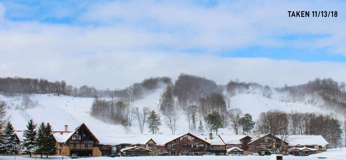 Boyne Highlands is making snow. (Boyne Highlands)