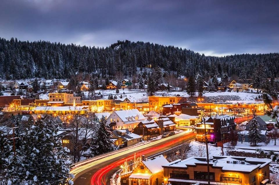A busy town, Truckee is the commercial hub for five ski and snowboard resorts. (Truckee/Facebook)