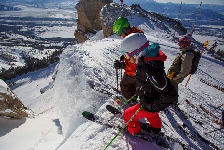 Discovery offers plenty of steep chutes. (Discovery/Facebook)