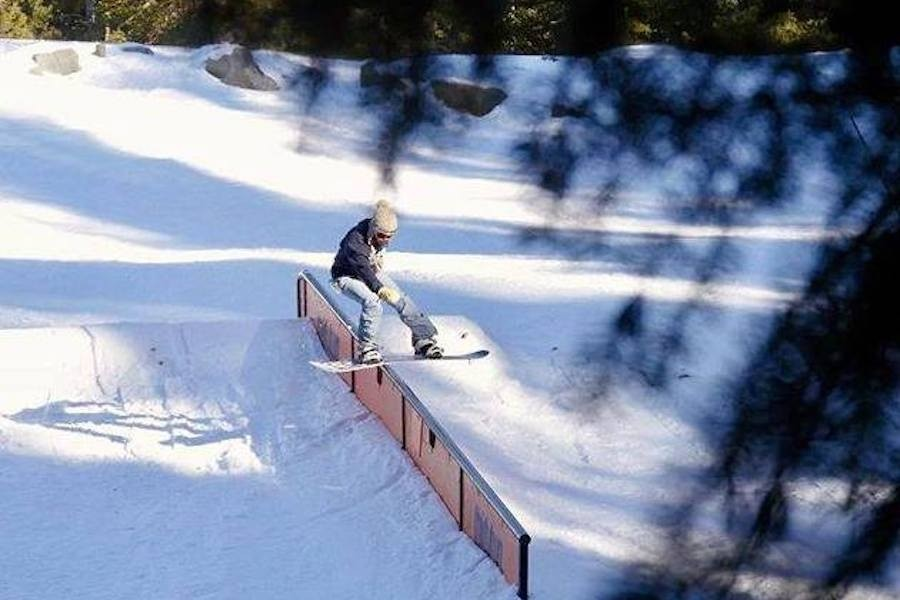 Freestyle riders and skiers enjoy Brighton's four terrain parks for all abilities. (Brighton)