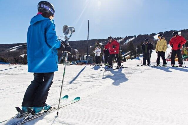 Lesson come in all sizes and varieties during January. (Learn to Ski and Snowboard Month)