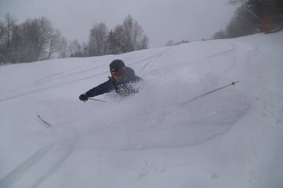 Ropes were dropping left and right at Waterville Valley with 14 inches by the end of the day. (Waterville Valley/Facebook)