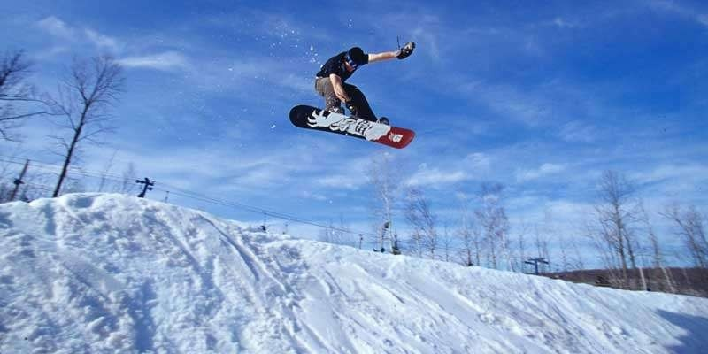 Getting big air at Cascade Mountain. (Cascade Mountain/Facebook)