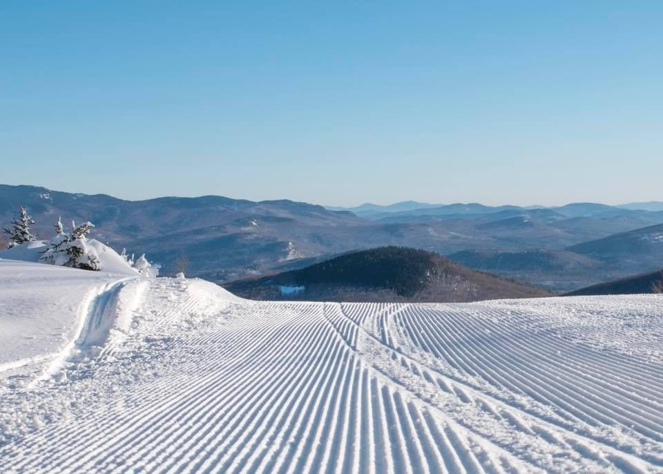 Fresh corduroy awaits for early birds at Sunday River. (Sunday River/Facebook)