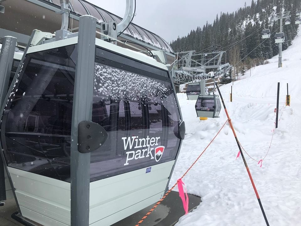 Ride the train, hop the new gondola at Winter Park. (Winter Park Resort/Facebook)