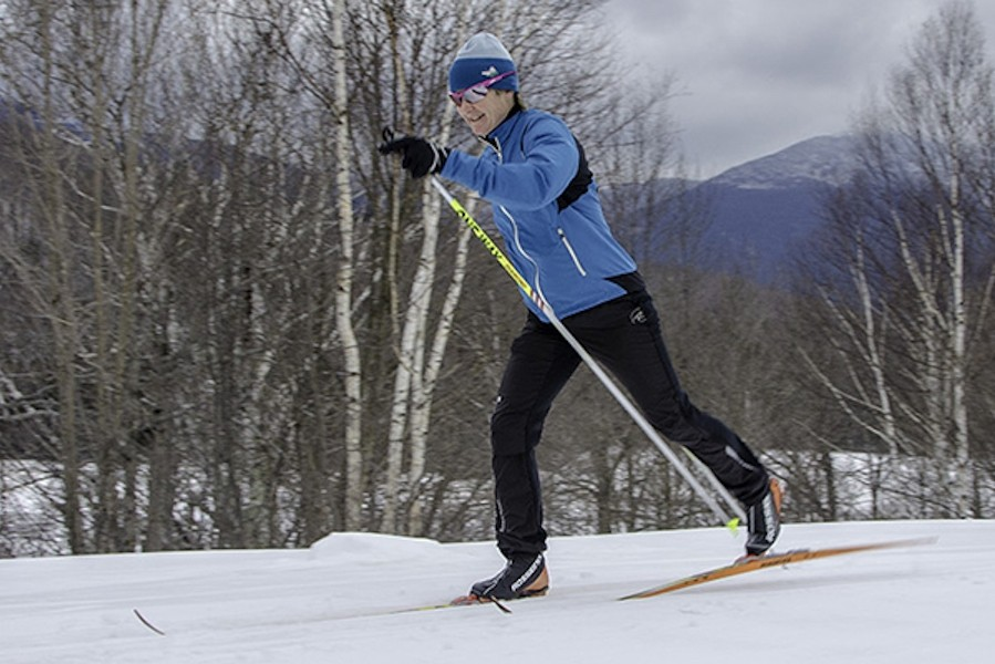 Learn from Olympian Sue Wemyss on Great Glen's trails in the White Mountains of New Hampshire. (Great Glen Trails)