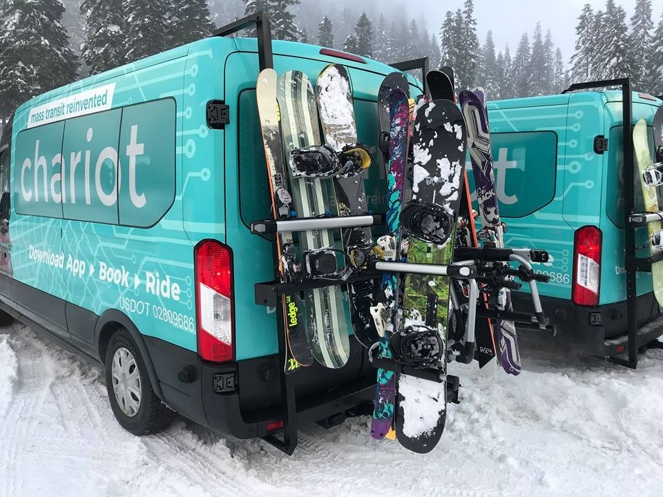 Chariot Destinations has taken hold of transportation service from SEATAC to Washington resorts. (Chariot Destinations/Facebook)